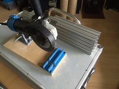 4 inch Angle Grinder Chop Saw by Lucan07 - Thingiverse