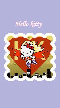 Superhero Hello Kitty
