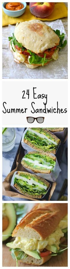 Tasty Summer Sandwiches Perfect for Your Next Picnic Make packing for a picnic easy — and delicious — with these portable and yummy sandwiches.Make packing for a picnic easy — and delicious — with these portable and yummy sandwiches. Good Food, Yummy Food, Yummy Mummy, Yummy Eats, Yummy Snacks, Cooking Recipes, Healthy Recipes, Delicious Recipes, Delicious Sandwiches
