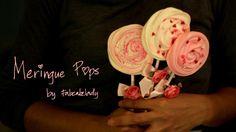 Making a sweet Valentine gift - Meringue Pops