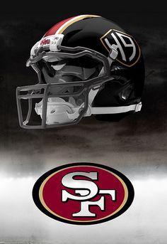 Possible San Francisco helmet Nfl Football Helmets, Steelers Football, Football Uniforms, 49ers Helmet, Georgia Bulldogs Football, Nfl 49ers, Go Eagles, Sports Uniforms, Sports Teams