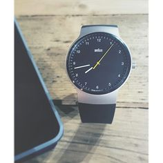 We have been checking out newness from Braun and as always we love the clean minimal design. This model comes with an upgraded Swiss quartz movement.
