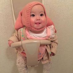 Korean Babies, Asian Babies, Cute Kids, Cute Babies, Baby Buns, Ulzzang Kids, Asian Kids, Asian Cute, Baby Portraits