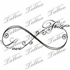 Infinity love faith