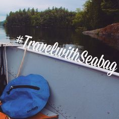 Saranac Lake, New York | Seabag Original Underwater bags are waterproof & compact. Great for storing personal belongings securely. Where will you go next?  #TravelwithSeabag