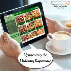 Say Hello to a World of Innovative Technology! Know more here: http://www.imenucards.com  #imenu #tabletmenu #digitalmenu #restaurant #ordering