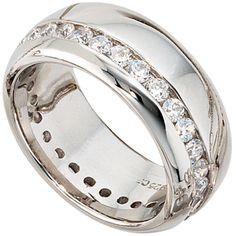 Damen Ring breit 925 Sterling Silber rhodiniert Zirkonia rundum Silberring Gr.58 http://www.ebay.de/itm/Damen-Ring-breit-925-Sterling-Silber-rhodiniert-Zirkonia-rundum-Silberring-Gr-58-/162512406931?ssPageName=STRK:MESE:IT