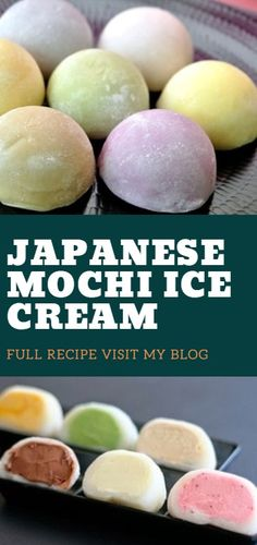 Japanese Mochi Ice Cream Mochi ice cream recipe Asian desserts How to make mochi ice cream Cookie dough Japanese food Mochi recipe easy Butter mochi Hawaiian desserts Ube macarons Mochi recipe Filipino desserts Japanese dessert Hawaiian Desserts, Filipino Desserts, Asian Desserts, Healthy Dessert Recipes, Delicious Desserts, Butter Mochi, Macarons, Desserts Japonais, Pastries