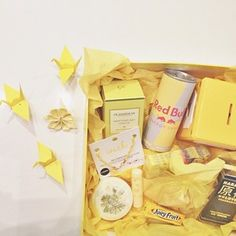 DIY Box full of sunshine Gift Box #birthday