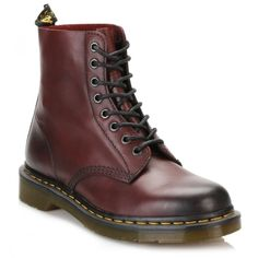 Dr Martens Mens Cherry Red Pascal Boots (3.257.005 VND) ❤ liked on Polyvore featuring men's fashion, men's shoes, men's boots, dr martens mens boots, mens shoes, dr martens mens shoes, mens leather shoes and mens lace up shoes