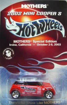 Hot Wheels Mothers Wax Red Roadster w//PR5 Spoke Wheels