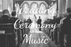 Website with wedding music. Songs for ceremony and reception. - Great site!