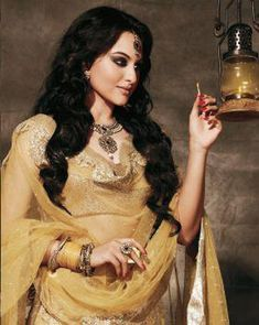 Sonakshi Sinha adorning gorgeous Indian jewellery in a photoshoot