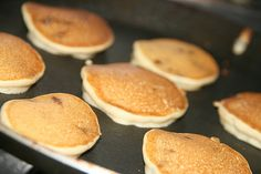i often find articles describing gluten free pancakes which taste like cardboard and feel like hockey pucks--not anymore! in the &helip;