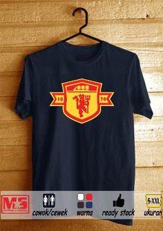 Kaos Distro Manchester Utd #1 Donker #Metsustore (Kaos Bola, Kaos Fans MU)
