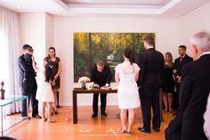Cerimônia de Casamento Civil Bridesmaid Dresses, Wedding Dresses, White Dress, Weddings, Formal Dresses, Fashion, Perfect Wedding, Courthouse Wedding, Daughter