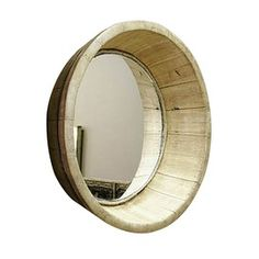 Can you make this from the bottom of a wine cask...?