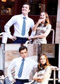 Chuck & Blair forever <3 #ChairGossipGirl