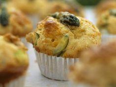 Spargel-Käse-Muffins