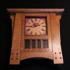 Mission Clock - by Andy @ LumberJocks.com ~ woodworking community