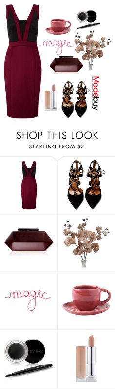 """modebuy"" by elly-852 ❤ liked on Polyvore featuring Aquazzura, Lipsy, Toast and Mary Kay"