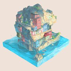 """""""Cliffside"""" by Eli B."""
