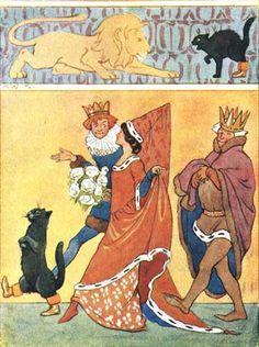Golding, Harry, editor.Fairy Tales. Margaret Tarrant, illustrator. London: Ward, Lock & Co., 1915.