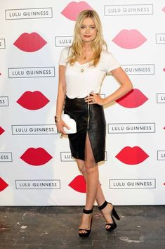 Laura Whitmore Photos: Arrivals at the Lulu Guinness Paint Project Party