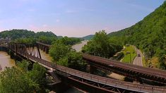 Aerial Tour of Harpers Ferry, West Virginia