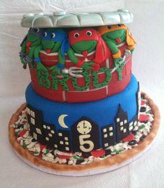 Teenage Mutant Ninja Turtles 100 Edible Cake Made Decorated By Me