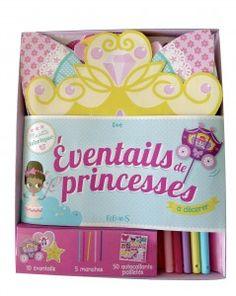 Eventails de princesses à décorer