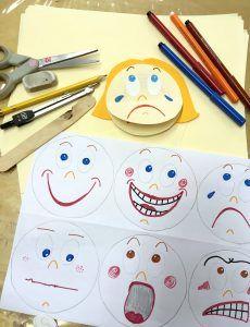 Obličeje a pocity - kroužek MŠ
