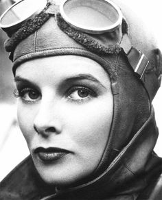 Katharine Hepburn in Christopher Strong (1933).