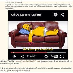 Leitor do Blog do Dr. Souto fez da experiência dele com #lowcarb uma paródia. Assistam é super divertido!  Ou leia e assista no blog: lowcarb-paleo.com.br  #TeamDrSouto #Paleo #Nutrição #Obesidade @Saúde #SóOsMagrosSabem