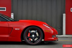 Lingenfelter 2012 Chevrolet Corvette Z06  Vossen Wheels  - VVS-087 - Custom Finish - F: 19x10 / R: 20x12.5