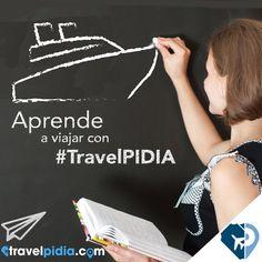 Aprende a viajar con #TravelPIDIA www.travelpidia.com/destinations.xhtml