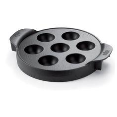 Weber Gourmet BBQ System: Ebelskiver Einsatz