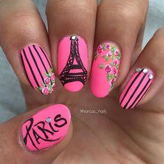 Instagram media mvargas_nails - Paris #nail #nails #nailart