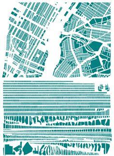 Data art: New York City, rearranged