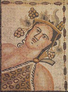 Otoño, Mosaico de las Cuatro Estaciones - Casa de Baco, Complutum, Alcalá de Henares