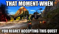 I never got to the Deviljho and Rajang hunt.... But when i do... Im sure it'll never get done. Lol!