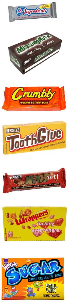 Funny pictures about Descriptive candy names. Oh, and cool pics about Descriptive candy names. Also, Descriptive candy names photos. Funny Jokes To Tell, Funny Memes, Funniest Memes, Memes Humor, Videos Funny, Funny Cute, The Funny, Funny Candy, Funny Pins