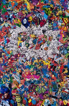 """Marvel Collages"" by Mr. Films Marvel, Marvel Vs, Marvel Dc Comics, Marvel Heroes, Graffiti Wallpaper, Cartoon Wallpaper, Iphone Wallpaper, Wallpapers Geek, Movie Wallpapers"