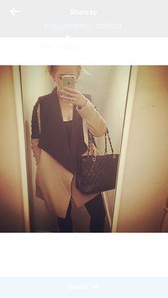 Totally living my new winter coat from River Island   Chanel bag  H&M pumps   Winter outfit