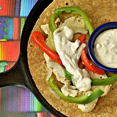 """Chipotle Creme Fraiche I """" This worked great as a topper on our chicken fajitas."""""""