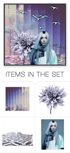 """""""Electric Birds"""" by valeria-meira ❤ liked on Polyvore featuring art, futuristic, scifi, artset and artexpression"""