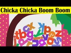 Chicka Chicka Boom Boom (Alphabet Song) | Animated Nursery Rhymes | Children Songs Full HD - YouTube