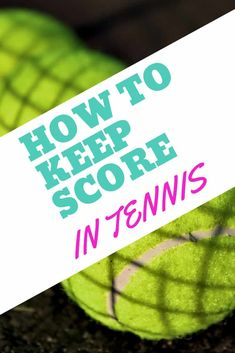 Tennis scoring is not as complicated as you may think! This tennis scoring guide is filled with tips on how to keep score during your tennis match. Everything you need to know when you play your first tennis match! Tennis Games, Tennis Gear, Tennis Clubs, Sport Tennis, Tennis Players, Tennis Clothes, Tennis Scores, How To Play Tennis, Sports