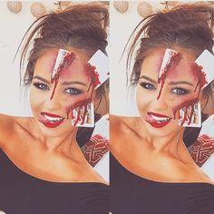 Me ♠️♥️♣️♦️ #sfx #makeup #cards