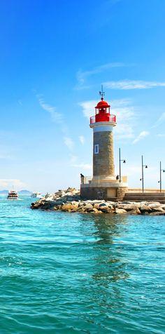 Faro de St. Tropez, Francia |  Fotografía increíble de las ciudades y Señales famosas de alrededor del mundo